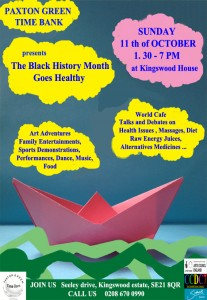 Black History Month event october 11th 2015